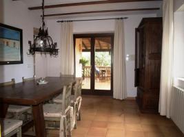 Foto 8 Langzeitmiete Mallorca: Renovierte Meerblick Pool Finca mit 2 Gäste Casitas und 60 qm Wohnküche im Patio strandnah bei Porto Colom