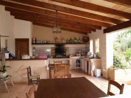 Foto 10 Langzeitmiete Mallorca: Renovierte Meerblick Pool Finca mit 2 Gäste Casitas und 60 qm Wohnküche im Patio strandnah bei Porto Colom