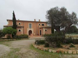 Langzeitmiete Mallorca: Repr�sentatives 300 qm Pool Finca Anwesen bei Santanyi mit 6 Schlafzimmern