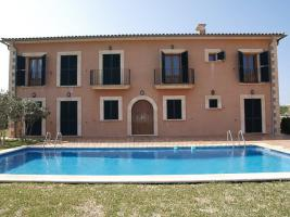 Foto 3 Langzeitmiete Mallorca: Repräsentatives 300 qm Pool Finca Anwesen bei Santanyi mit 6 Schlafzimmern
