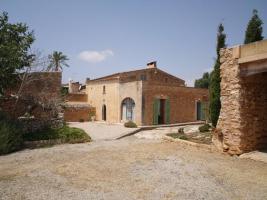 Foto 2 Langzeitmiete Mallorca: Romantische 285 qm Naturstein Pool Finca mit Apartment nahe Santanyi