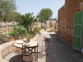Foto 4 Langzeitmiete Mallorca: Romantische 285 qm Naturstein Pool Finca mit Apartment nahe Santanyi