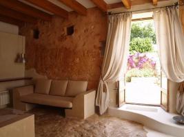 Foto 5 Langzeitmiete Mallorca: Romantische 285 qm Naturstein Pool Finca mit Apartment nahe Santanyi