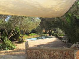 Foto 3 Langzeitmiete Mallorca: Romantische Finca mit Pool und einem Gästehaus nahe Alqueria Blanca