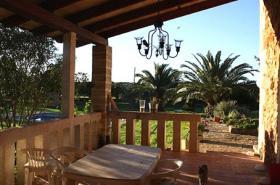 Langzeitmiete Mallorca: Ruhig gelegene Pool Finca zwischen Campos und Ses Salines
