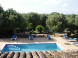 Foto 2 Langzeitmiete Mallorca: Ruhige Pool Finca mit Pferdekoppel zwischen Campos und Ses Covetes