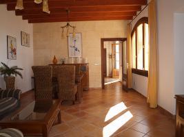 Foto 3 Langzeitmiete Mallorca. Renovierte gemütliche 200 m2 Naturstein Finca in Son Mesquida zwischen Porreres und Felanitx