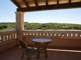 Foto 3 Langzeitvermietung Mallorca: Bezaubernde große Naturstein Pool Finca mit Heizung nahe Porreres / Inselmitte