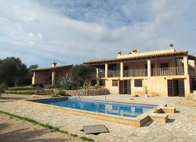 Foto 2 Langzeitvermietung Mallorca: Meerblick Pool Finca mit 2 Gästeappartments bei Porto Colom