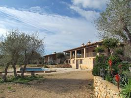 Foto 3 Langzeitvermietung Mallorca: Meerblick Pool Finca mit 2 Gästeappartments bei Porto Colom