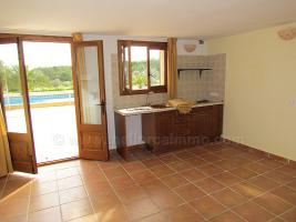 Foto 7 Langzeitvermietung Mallorca: Meerblick Pool Finca mit 2 Gästeappartments bei Porto Colom