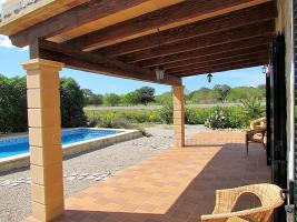 Foto 4 Langzeitvermietung Mallorca: Neuwertige Finca mit einem 13 Meter Pool nahe Porreres