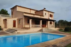 Langzeitvermietung Mallorca: Pool Finca bei Cas Concos