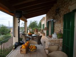 Foto 2 Langzeitvermietung Mallorca: Pool Finca mit Meerblick nahe Santanyi