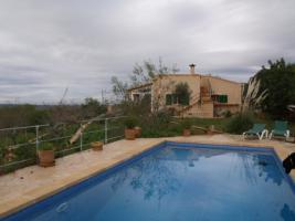 Foto 3 Langzeitvermietung Mallorca: Pool Finca mit Meerblick nahe Santanyi