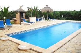 Langzeitvermietung Mallorca: Ruhige Pool Finca zwischen Campos und Ses Salines