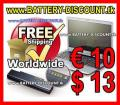 Laptop Battery 7800mAh Dell Studio nur € 18 – versandkostenfrei