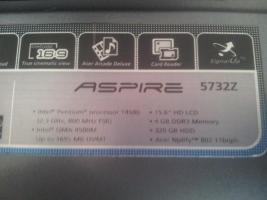 Laptop (acer aspire 5732Z)