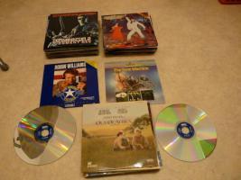 Laserdisc Filme / Raritäten zum Teil unbenutzt ca. 175 Stück.