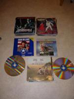 Foto 5 Laserdisc Filme / Rarit�ten zum Teil unbenutzt ca. 175 St�ck.