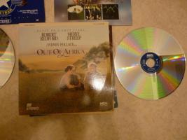 Foto 6 Laserdisc Filme / Rarit�ten zum Teil unbenutzt ca. 175 St�ck.