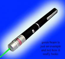 Laserpointer grün mit großer Reichweite - Versandkostenfrei