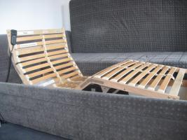 Foto 2 Lattenrost (2x) mit Motor & Fernbedienung oder Bett komplett