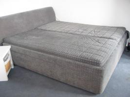 Foto 6 Lattenrost (2x) mit Motor & Fernbedienung oder Bett komplett