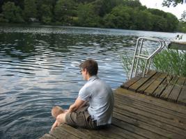 Foto 3 Laube mit großem Grundstück in unmittelbarer Seenhähe (Üdersee)