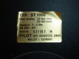 Foto 4 Lautsprecher Pilot ST1000