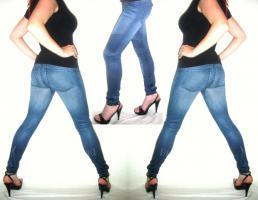 LeGGinGs Jeans JeGGinGs neu LeGGins sexy Größe L