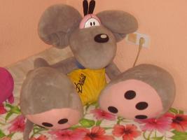 Lebensgroße Diddl-Maus