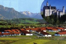 Foto 10 Lechbruck am See / Allgäu, 4-Sterne-Ferienhaus mit Sauna im Allgäuer Feriendorf Hochbergle