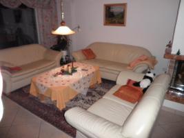 Foto 2 Leder Couch Garnitur
