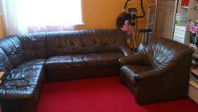 Leder Couch Sedda + Sofa