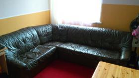 Foto 2 Leder Couch Sedda + Sofa