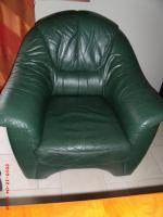 Foto 3 Leder-Couchgarnitur