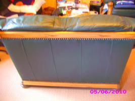 Foto 5 Leder Ganitur 3er 2er und 1 Sessel