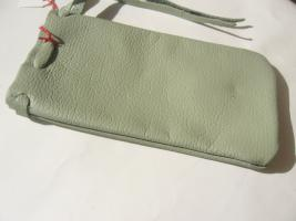 Lederbeutel - Tasche handgefertigt