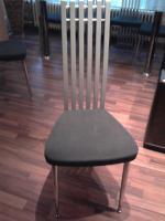 Foto 6 Ledercouch(grün 3er,2er,1er), Couchtisch(glas), Esstisch(glas)mit 6 Stühlen, Wohnwand+Sideboard