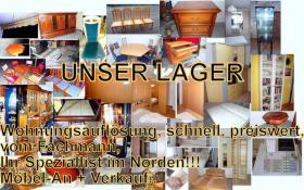 Foto 5 Ledergarnitur, 3er/ 1er und Hocker + Fernsehsessel, Liefer/ mögl