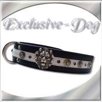 Lederhalsband Nieten Löwenkopf Dobermann Halsband Hundehalsbänder