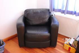 Foto 4 Ledersofa sehr bequem.. Leder hat keine Sitzspuren! aus den USA !