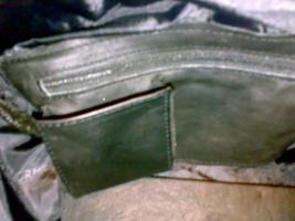 Foto 2 Ledertasche, Damenhandtasche, Schultertasche aus echtem Leder, Unikat