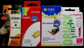 Leere Canon Patronen 51 Stück kompat.f.PIXMA IP 4600 etc.mit Chip