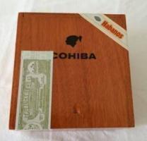 Leere Cohiba Robustos Zigarrenkiste rufen Sie an lohnt sich!