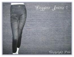 Leggings Jeans 1 - super cooool... - 3 Stück