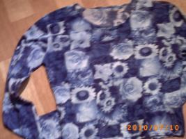 Leicht transparente, dünne Bluse, sehr schön bedruckt