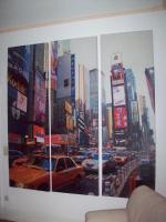 Leinwand New York 3 teilig