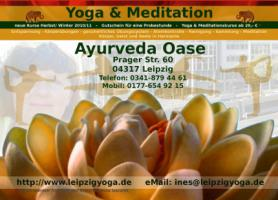 Leipzig, neue Yoga & Meditations Kurse starten